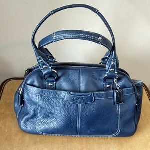 Coach Penelope classic Navy bag